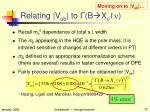 relating v ub to b x u