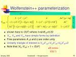 wolfenstein parameterization