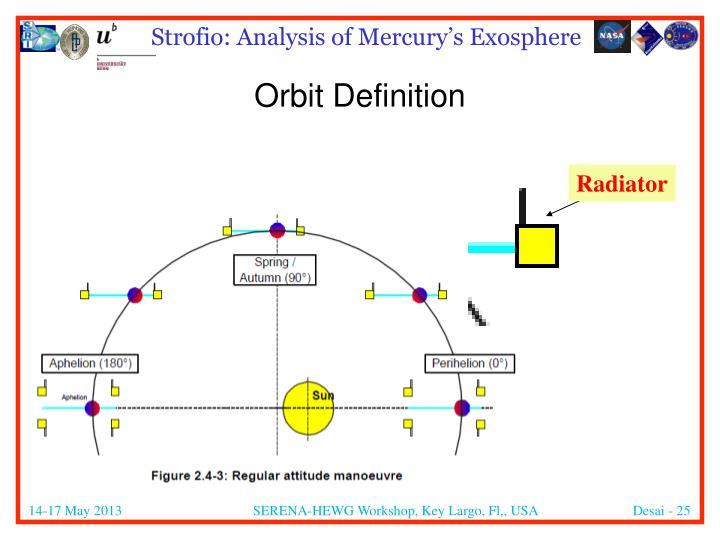 Orbit Definition