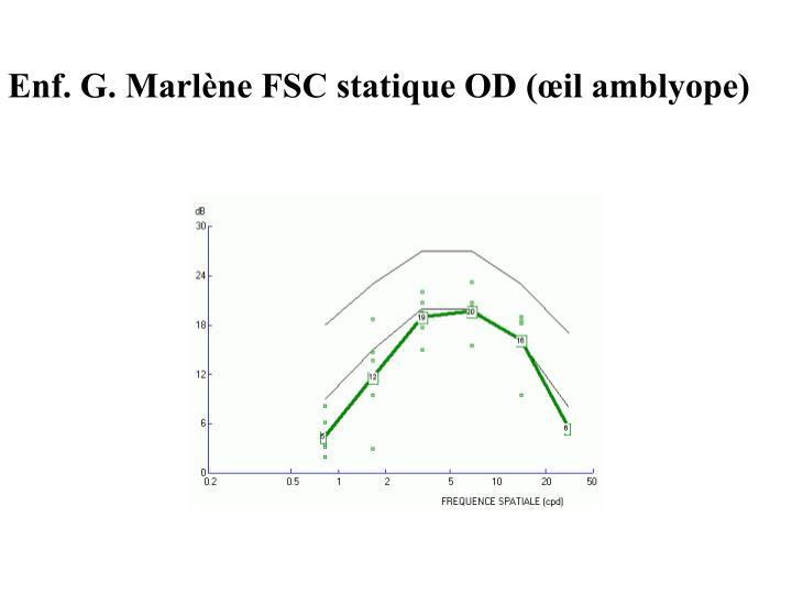 Enf. G. Marlène FSC statique OD (œil amblyope)