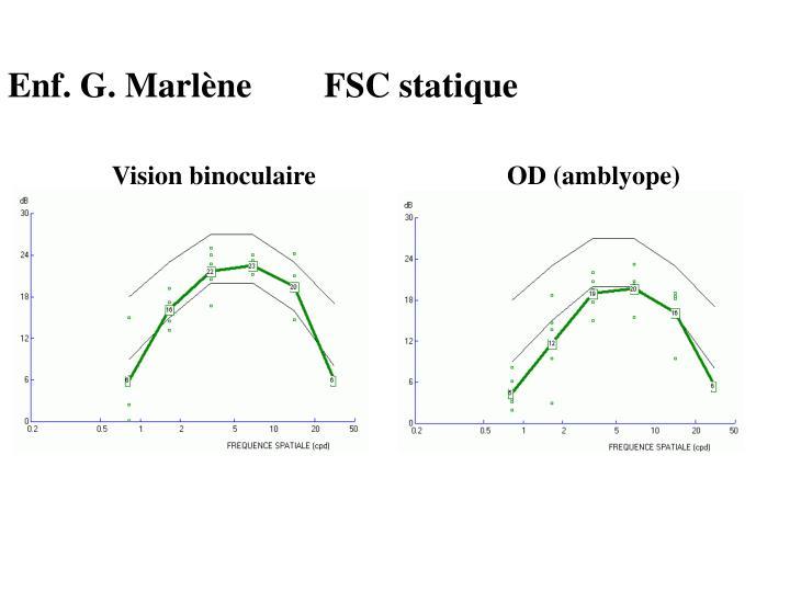 Enf. G. Marlène FSC statique