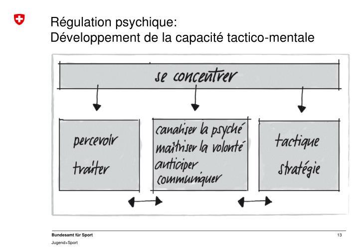 Régulation psychique: