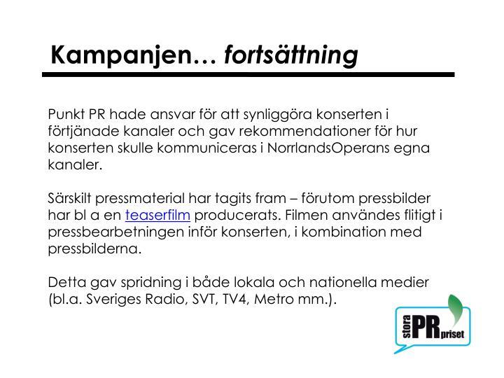 Kampanjen…