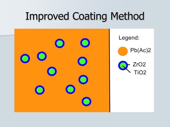 Improved Coating Method