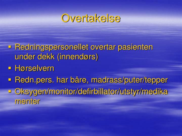 Overtakelse