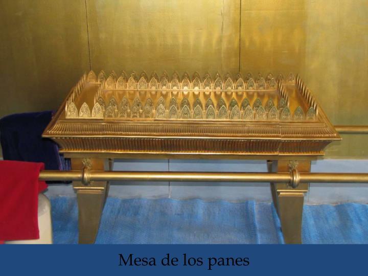 Mesa de los panes