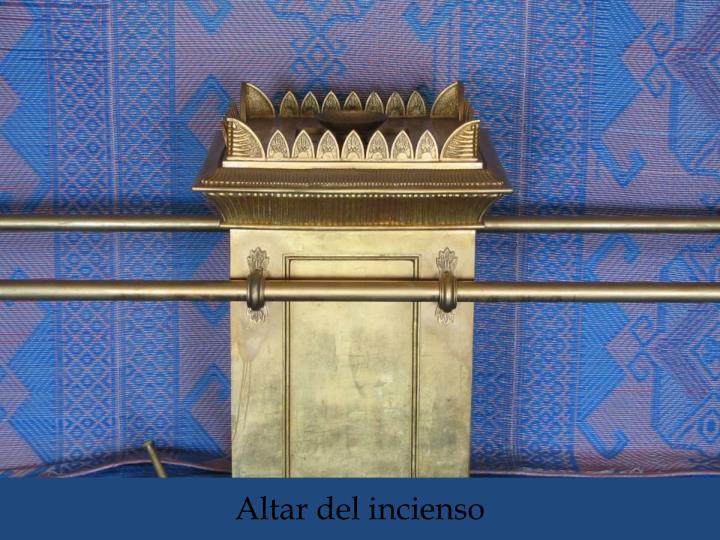 Altar del incienso