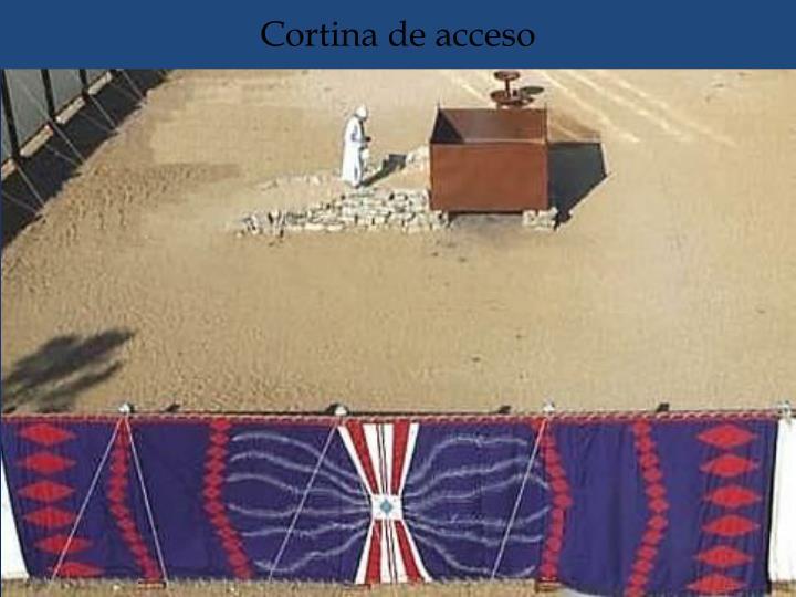 Cortina de acceso