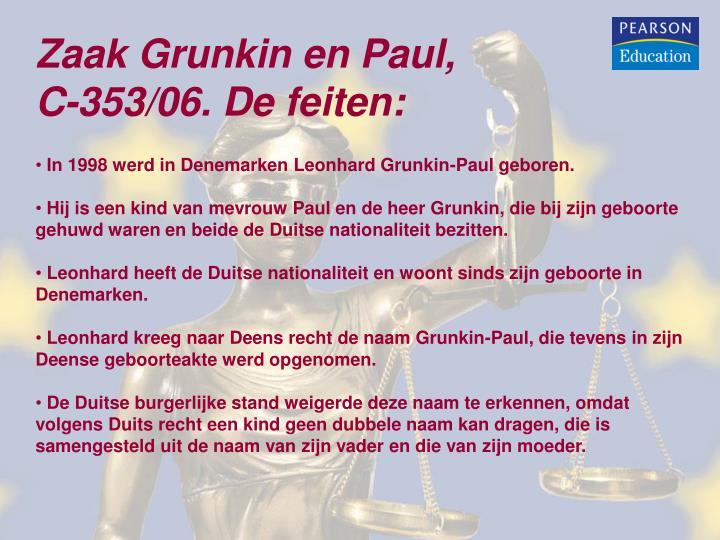 Zaak Grunkin en Paul,