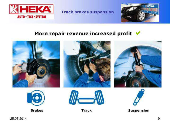 More repair revenue increased profit