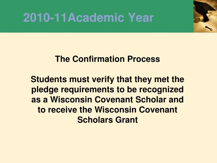 2010-11Academic Year