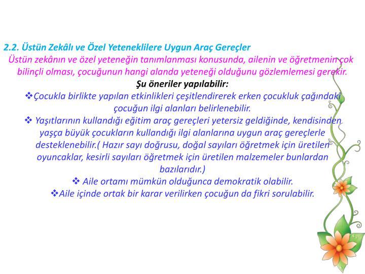 2.2. stn Zekl ve