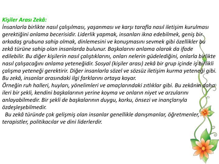 Kiiler Aras Zek: