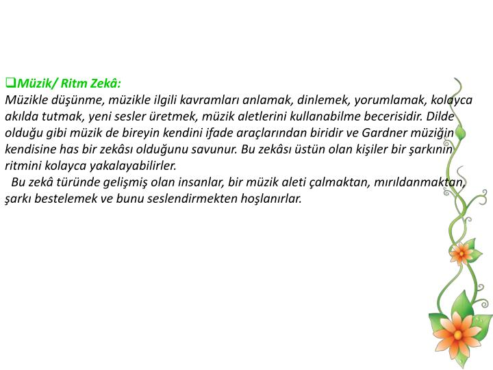 Mzik/ Ritm Zek:
