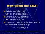 how about the co2