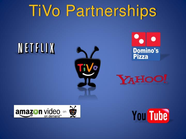 TiVo Partnerships