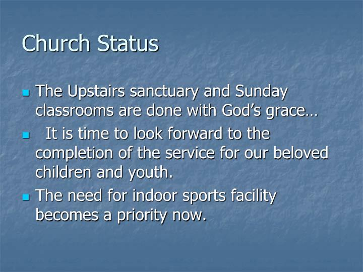 Church Status