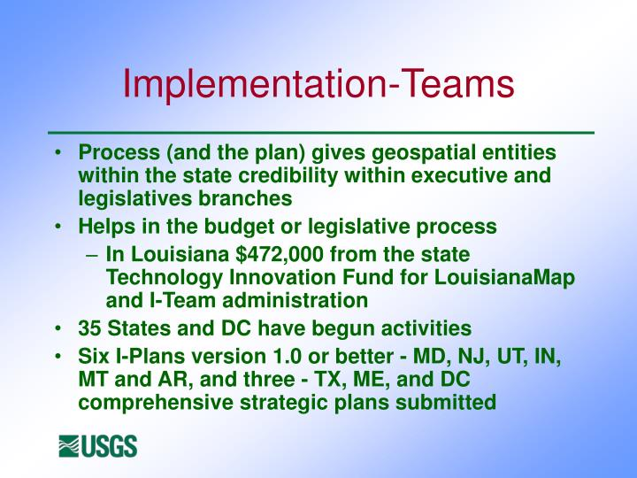 Implementation-Teams