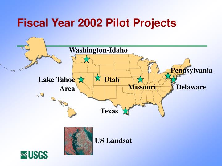 Fiscal Year 2002 Pilot Projects