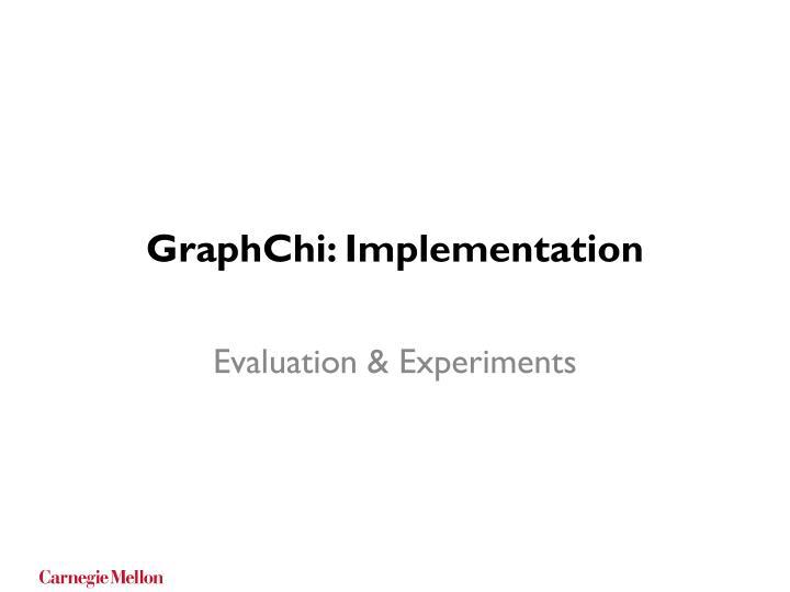 GraphChi