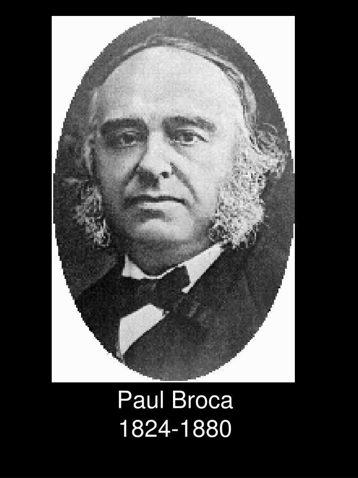 Paul Broca