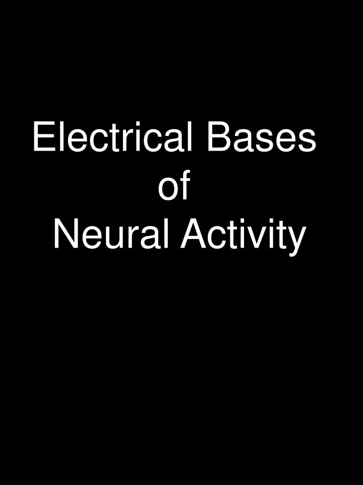 Electrical Bases