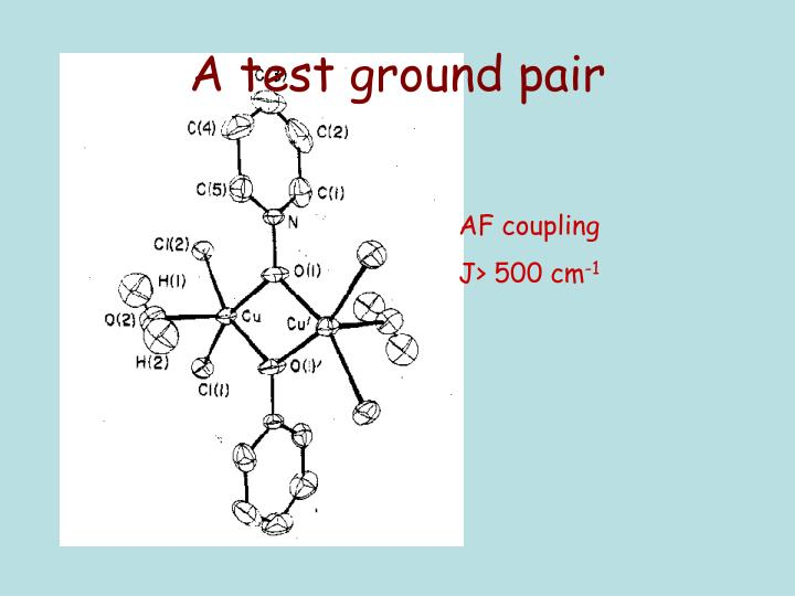 A test ground pair