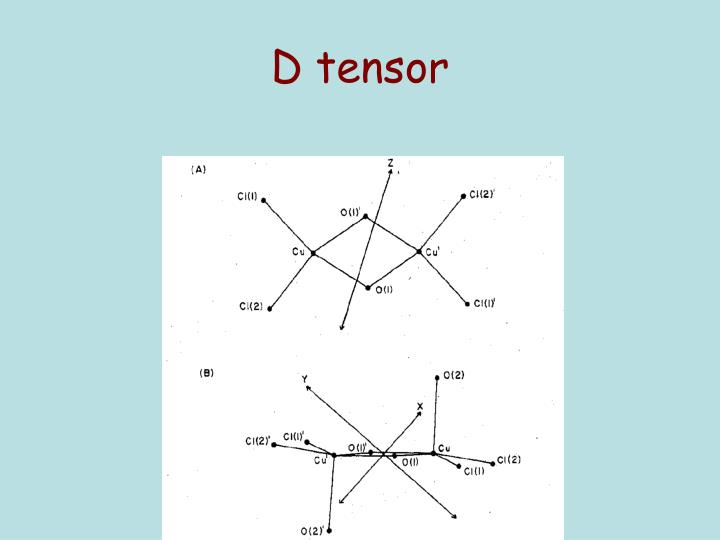 D tensor
