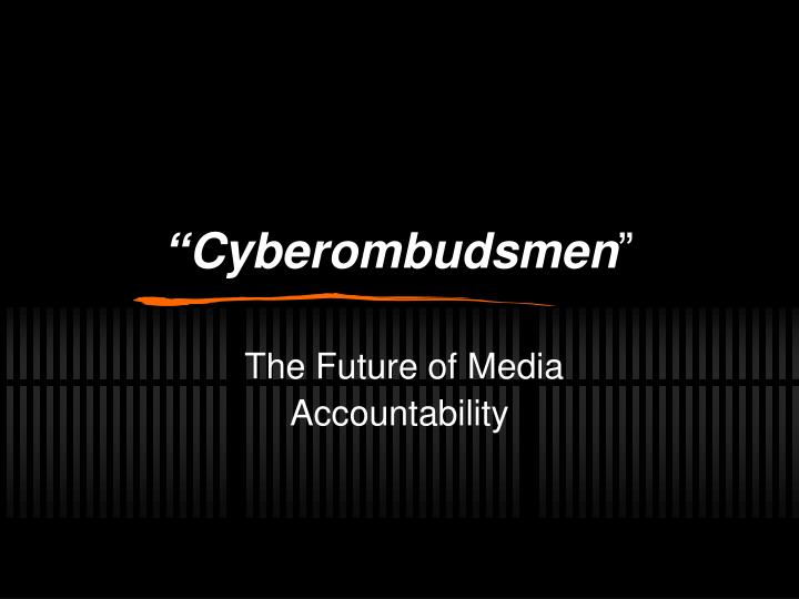 cyberombudsmen