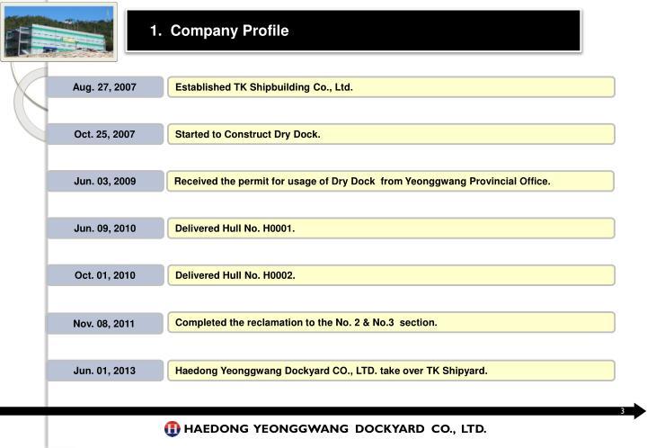 1.  Company