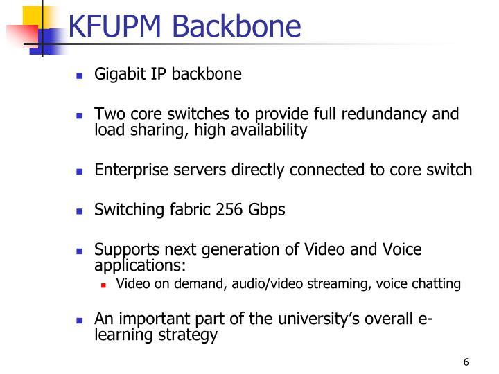 KFUPM Backbone