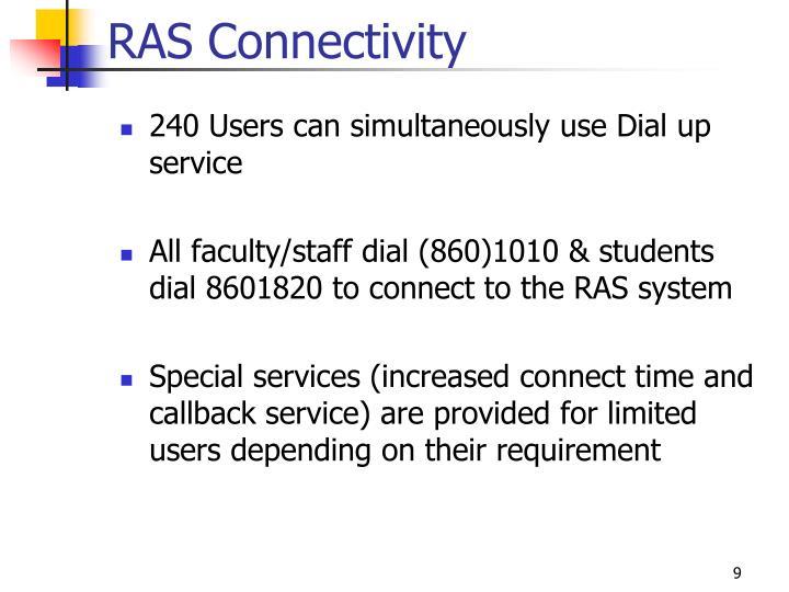 RAS Connectivity