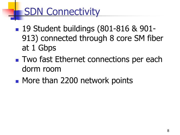 SDN Connectivity