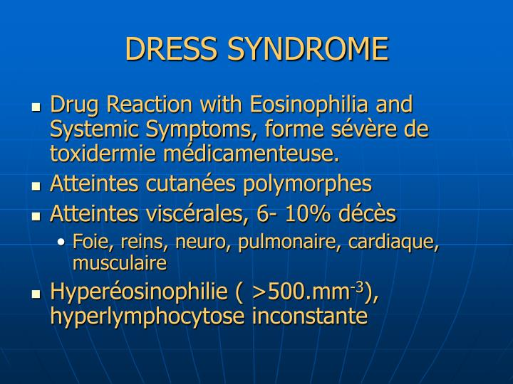 DRESS SYNDROME