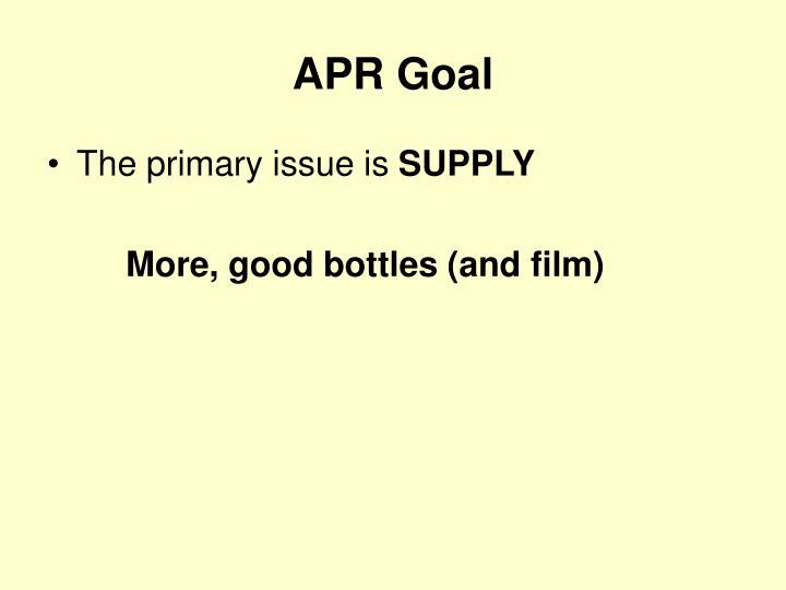 APR Goal