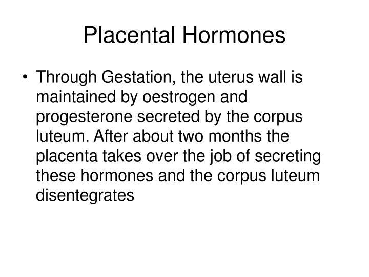 Placental Hormones