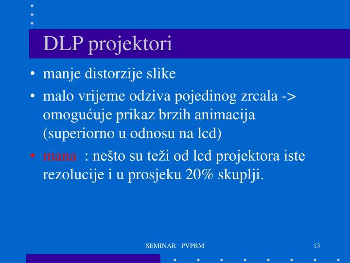 DLP projektori
