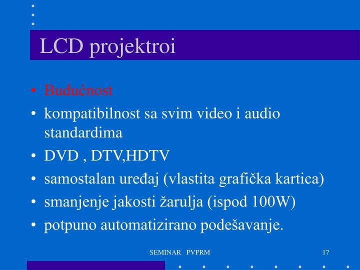 LCD projektroi