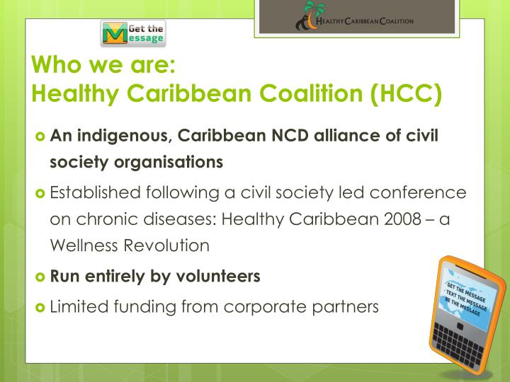Who we are healthy caribbean coalition hcc