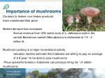 importance of mushrooms
