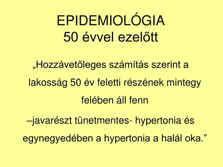 EPIDEMIOLGIA