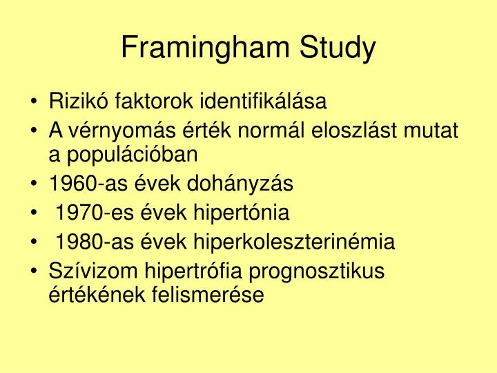 Framingham Study