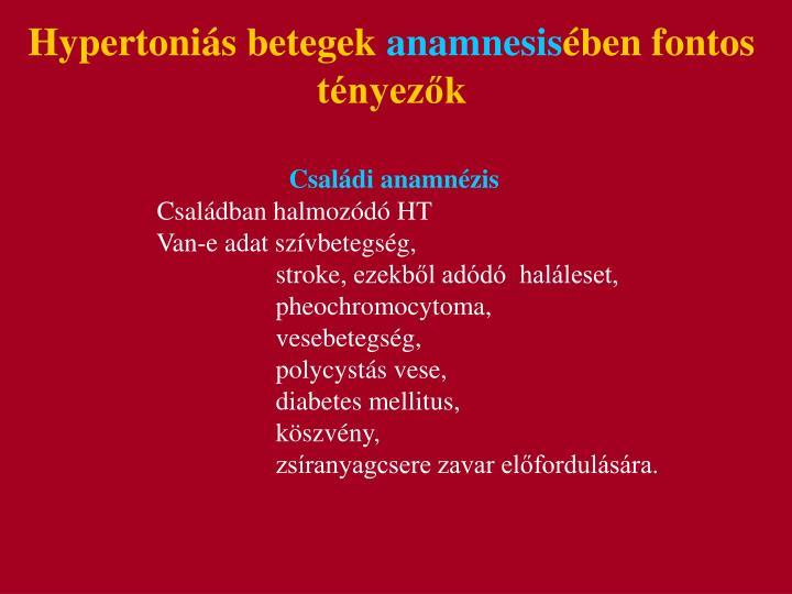 Hypertonis betegek