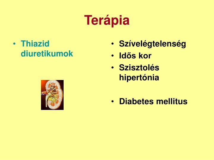 Thiazid diuretikumok