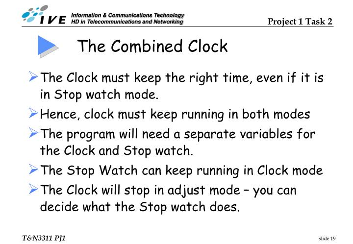 The Combined Clock