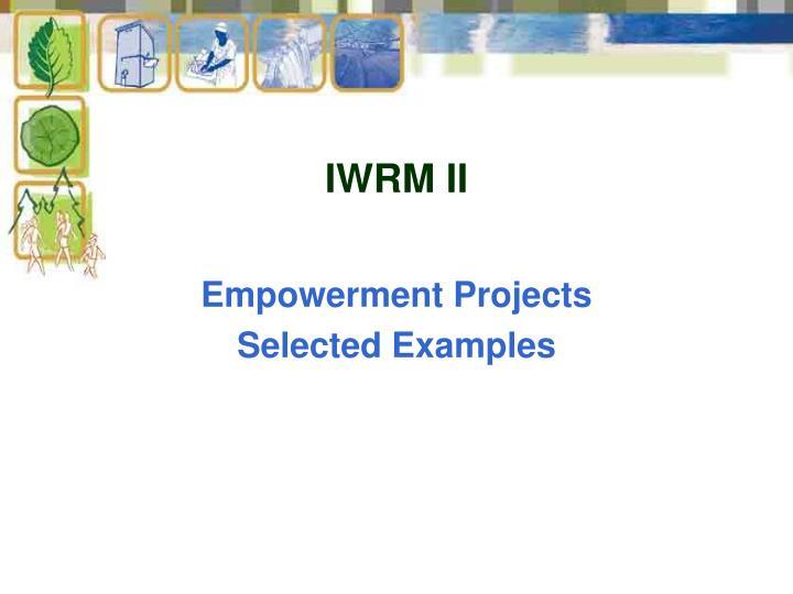 IWRM II