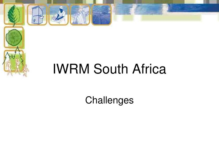 IWRM South Africa