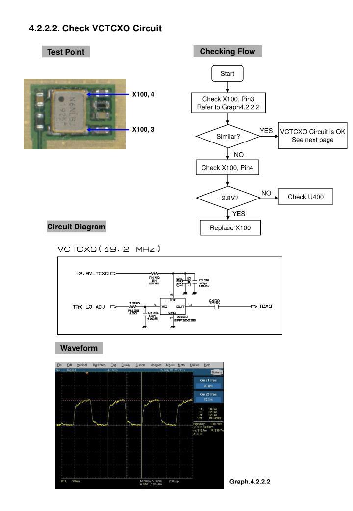 4.2.2.2. Check VCTCXO Circuit