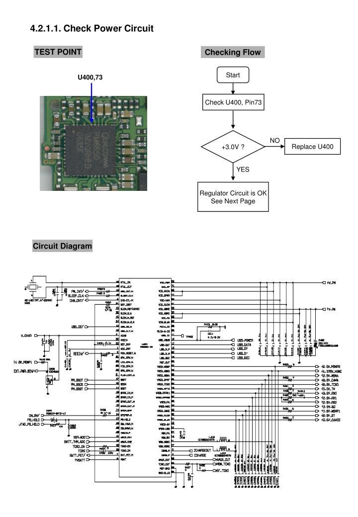 4.2.1.1. Check Power Circuit