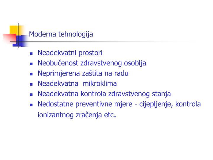 Moderna tehnologija